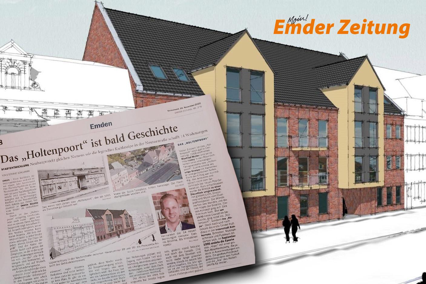 """Neubauprojekt """"Holtenpoort"""""""